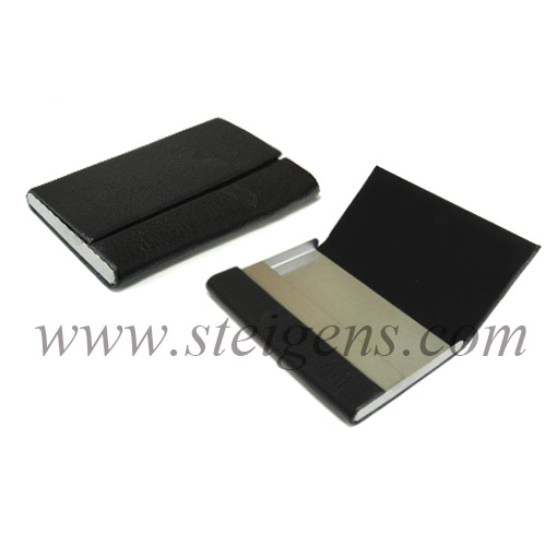 Leather business card holder stsg 1005 reheart Images