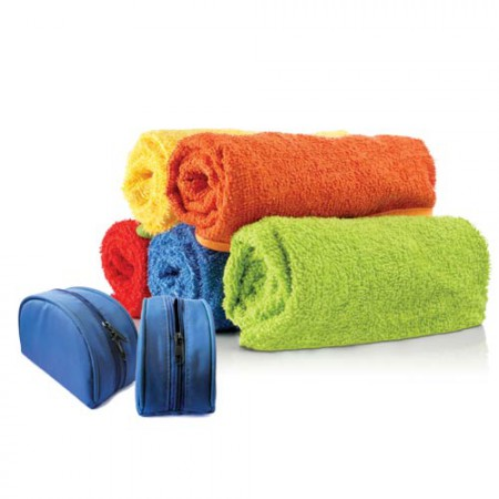 Towels & Utility Pouch