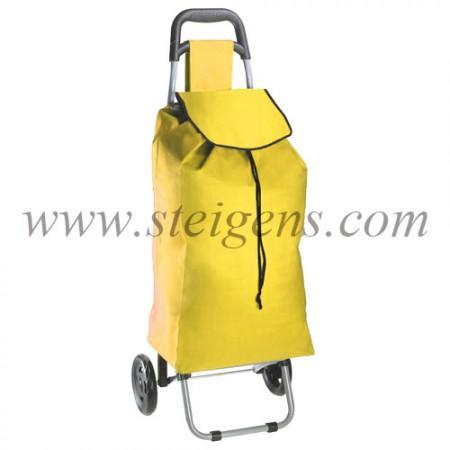 shopping-trolley-yellow