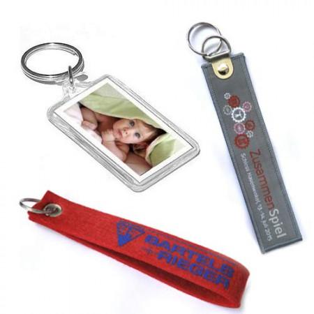 Acrylic & Cloth Key Chain