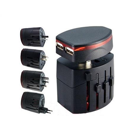 TA-017-World-Travel-Adaptor-Dual-USB-Black