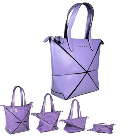 Cross-origami-bag