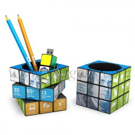 Rubik's-Pen-Pot