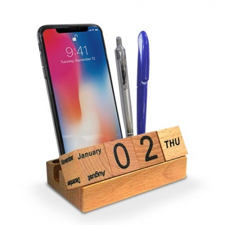 wooden-phone-holder-with-callendar-01