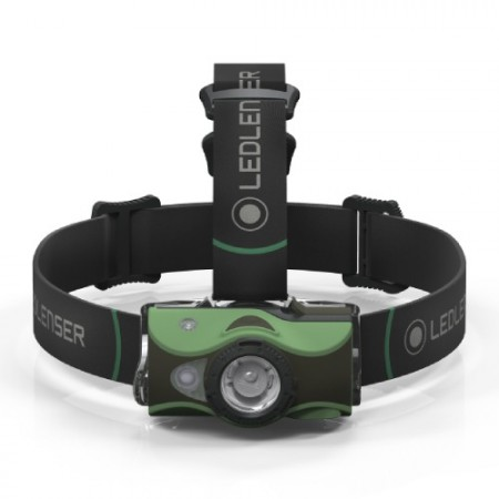 Ledlenser MH8 BLACK HEADLAMP- BOX LL500972