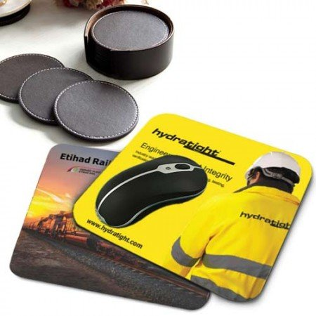 Mouse Pad & Tea Coasters