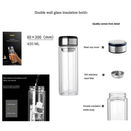Glass Water Bottle STMK 151219